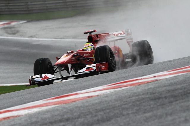 Massa 2 belgio 2010 formula 1