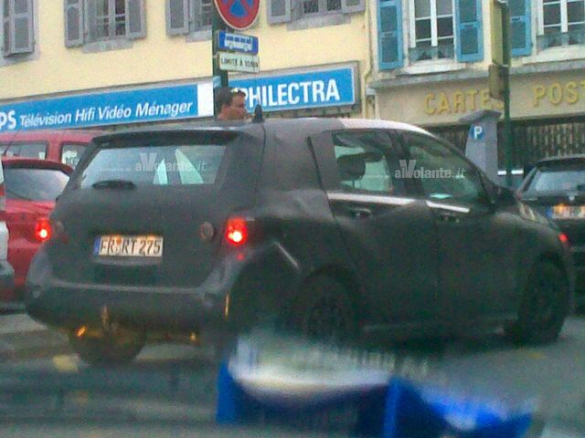 Mercedes classe b 2011 spy