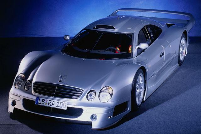 Mercedes clk gtr 03