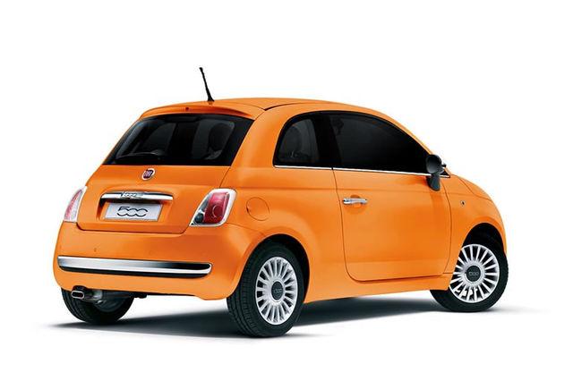 Fiat 500 arancia 2