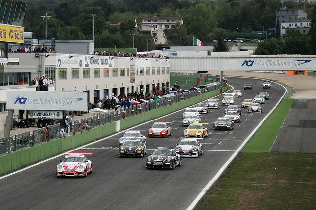 Porsche carrera cup vallelunga 2010 2