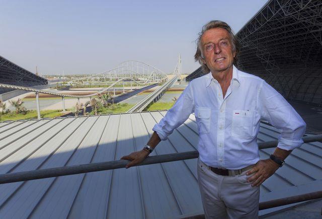 Ferrari world abu dhabi inaugurazione