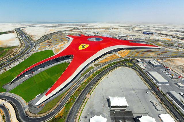 Ferrari world abu dhabi inaugurazione 10