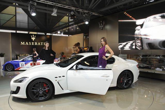 Maserati granturismo mc stradale motor show