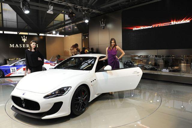Maserati granturismo mc stradale motor show 02