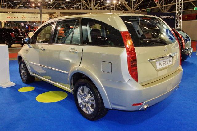 Tata aria motor show 2010 1 2