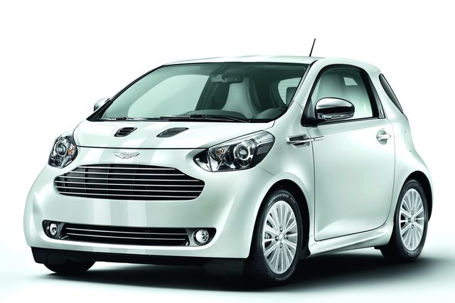 Aston martin cygnet white black 03