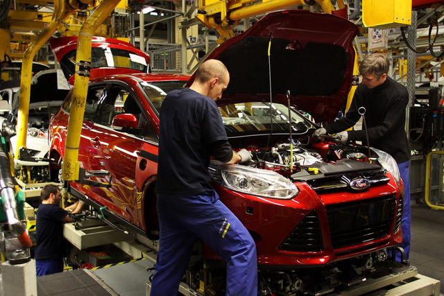 Ford fosuc 2011 fabbrica saarlouis
