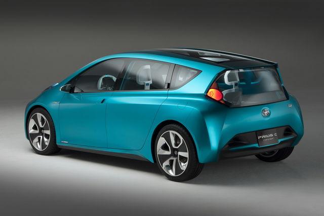 Toyota prius concept c 2011 01 09