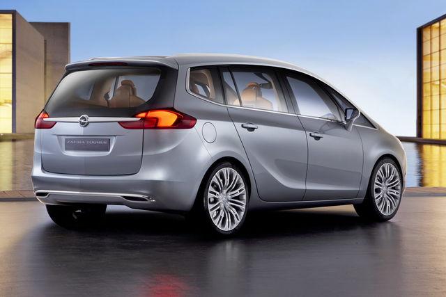 Opel zafira concept 2011 02 08