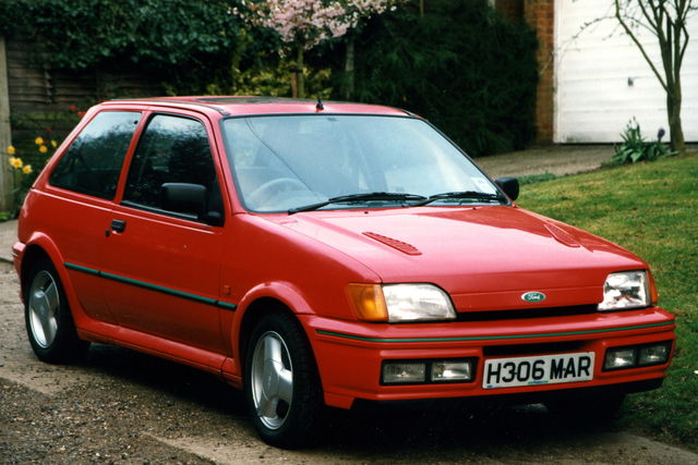 Ford fiesta rs turbo 1991