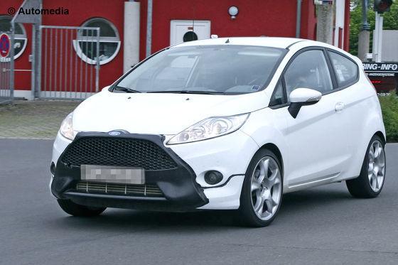 Ford fiesta st spy 05 2011