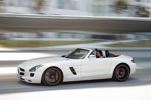 Mercedes sls roadster 09
