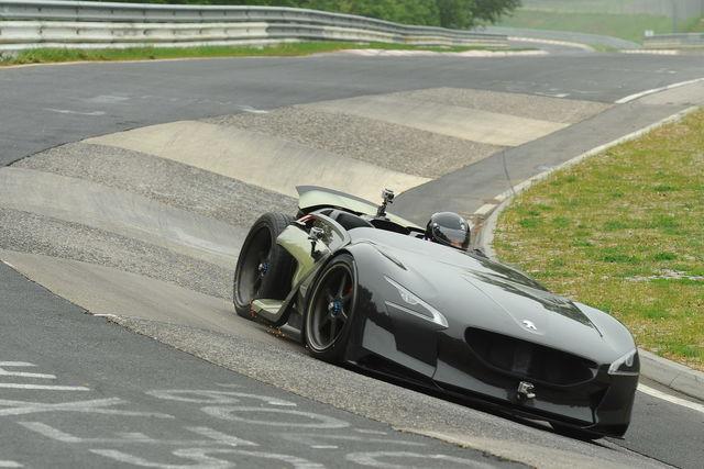 Peugeot ex1 nurburgring 3
