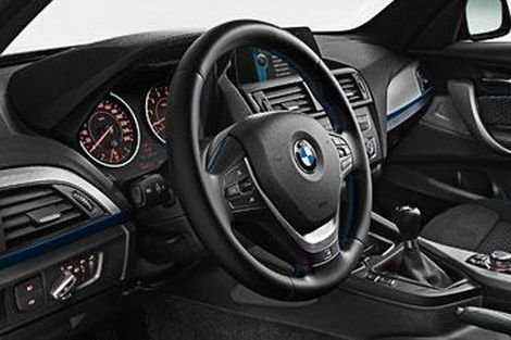 bmw serie 1 i prezzi italiani e la msport. Black Bedroom Furniture Sets. Home Design Ideas