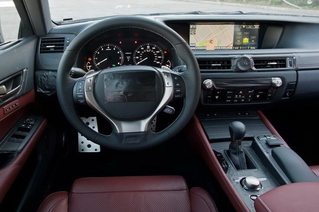 Lexus gs 2012 spy 07