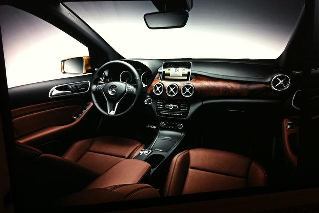 Mercedes classe b 2011 interni 11