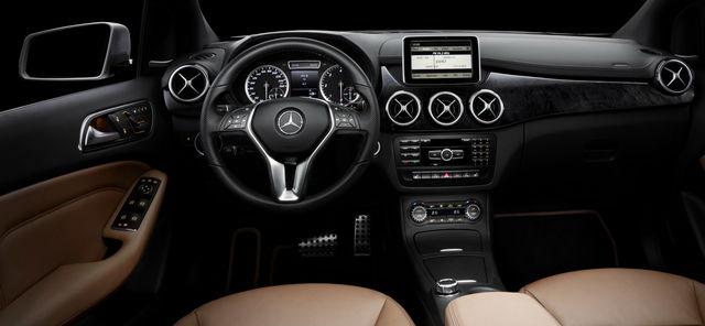 Mercedes classe b 2011 interni 5