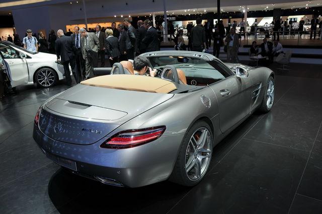 Mercedes sls francoforte 1