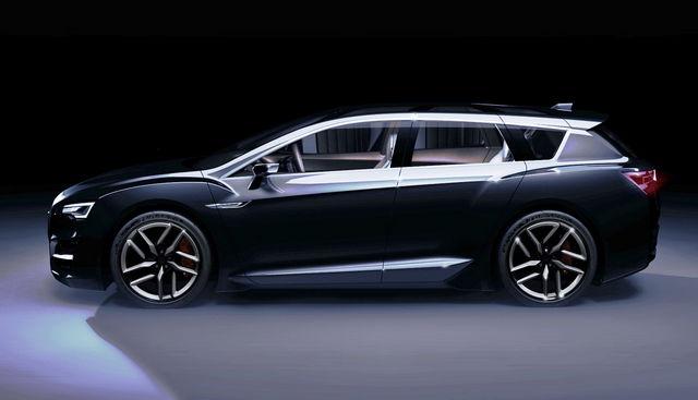 Subaru advanced tourer concept 4