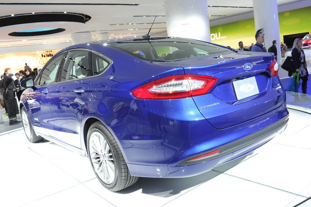 Ford fusion detroit 2