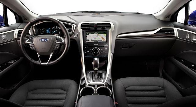 Ford fusion hybrid 03
