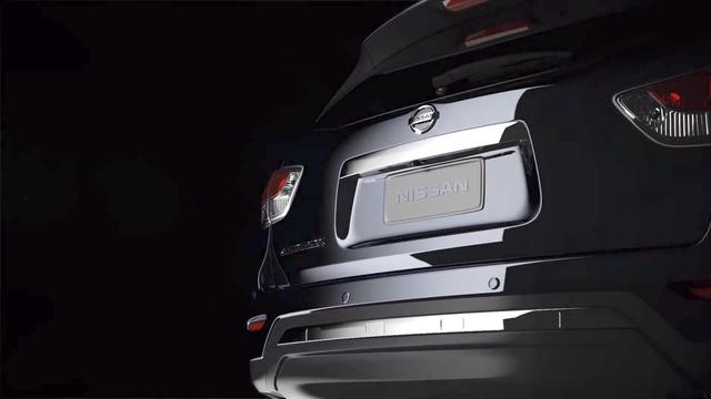 Nissan pathfinder 2012 teaser 1