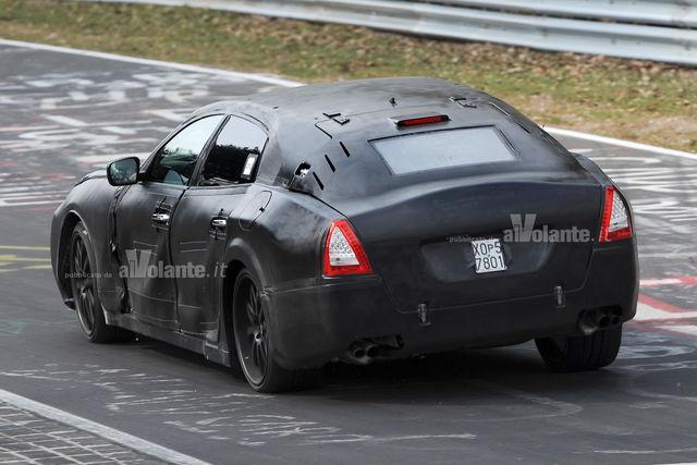 Maserati quattroporte spy 1