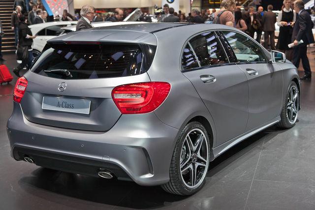 Mercedes classe a ginevra 2012 5