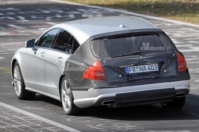 Mercedes cls shooting 1