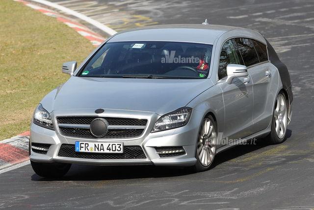 Mercedes cls shooting 3