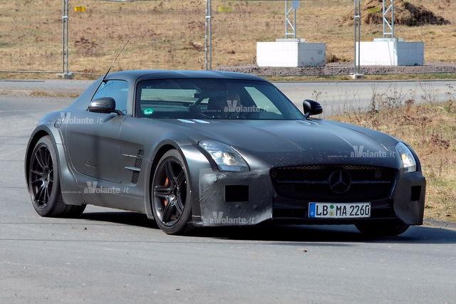 Mercedes sls black 2