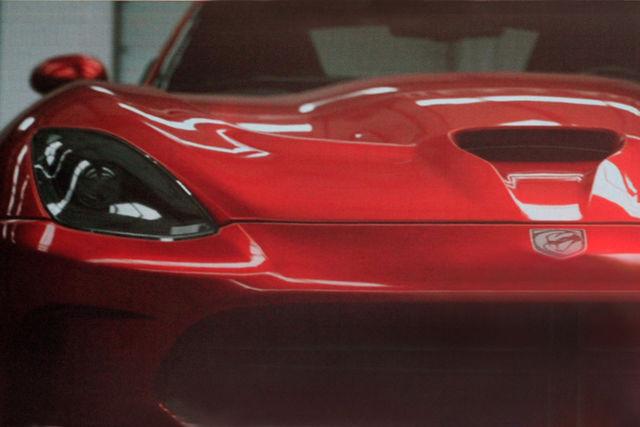 Dodge viper 2012 spy 2