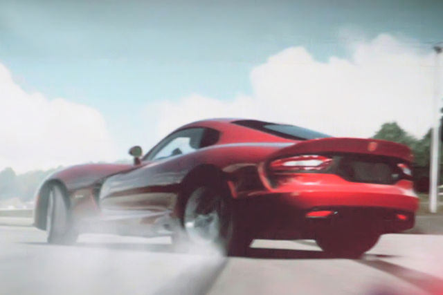 Dodge viper 2012 spy 5