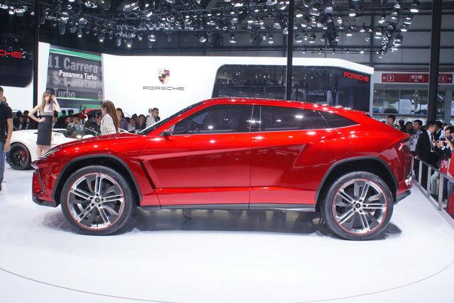 Lamborghini urus pechino 2012 09