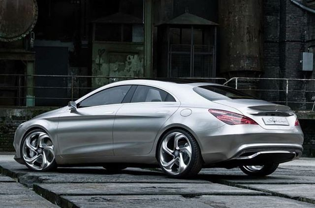 Mercedes style coupe 10