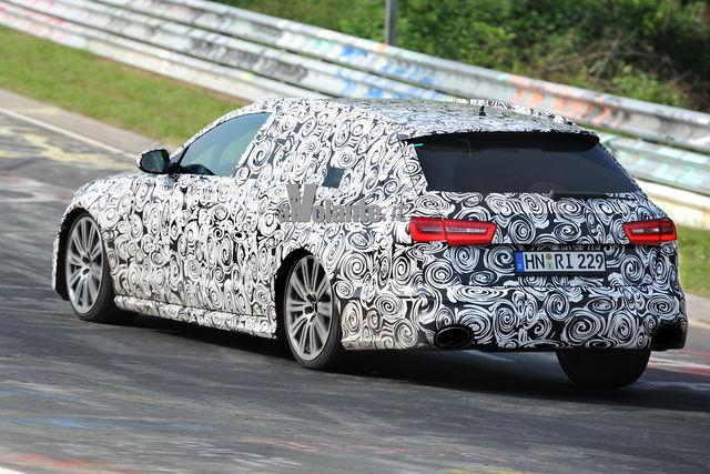 Audi rs6 spy 1