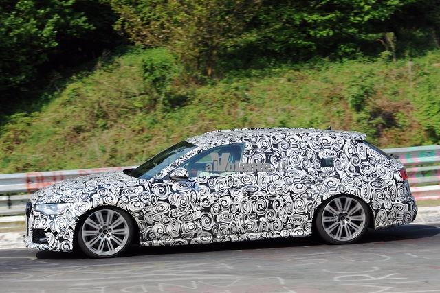 Audi rs6 spy 3