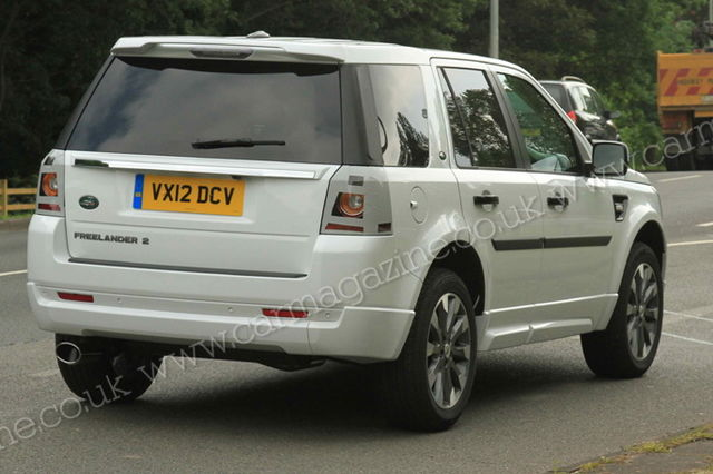 Land rover freelander 2012 spy 02
