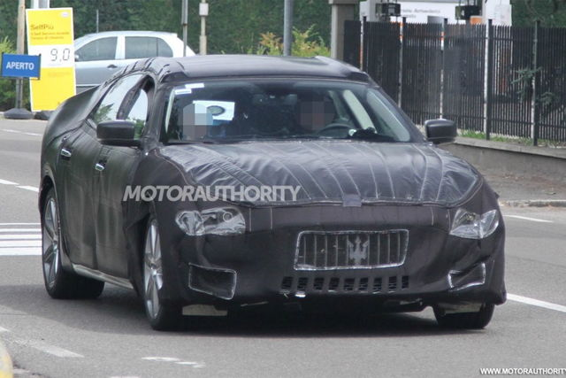 Maserati quattroporte spy 06 2012