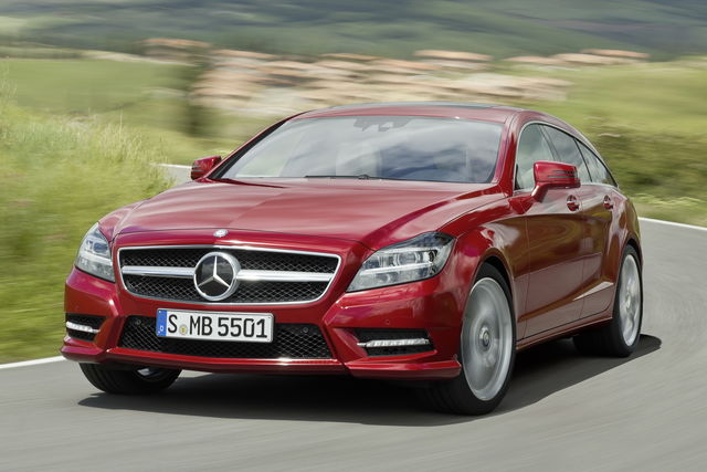Mercedes cls shooting brake 2012 3