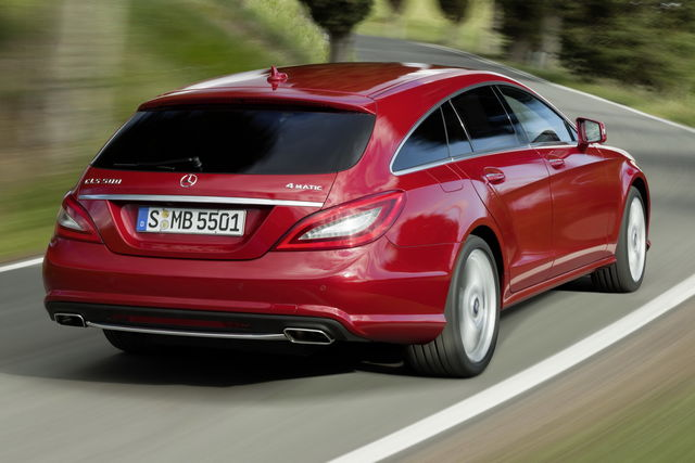 Mercedes cls shooting brake 2012 4