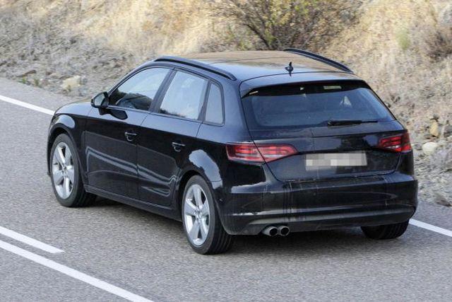 Audi a3 sportback 2013 spy