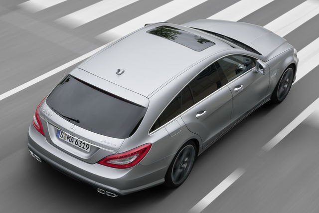 Mercedes cls shooting brake 63 amg 4