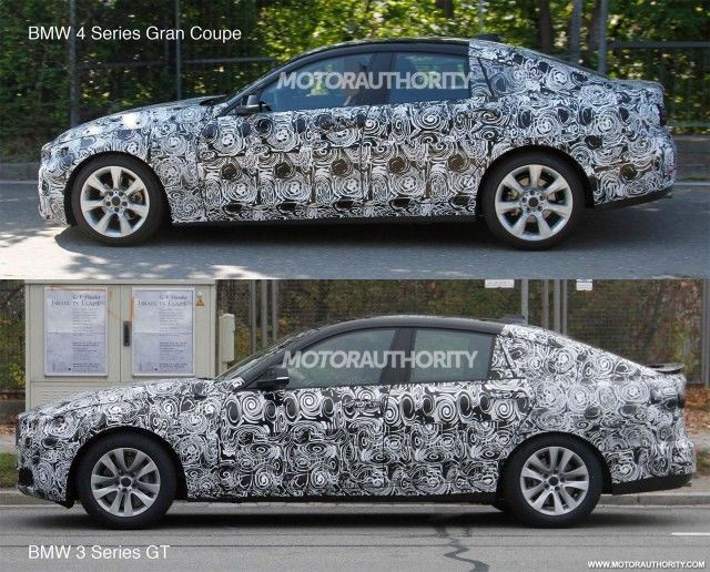 Bmw serie 4 gran coupe spy 1