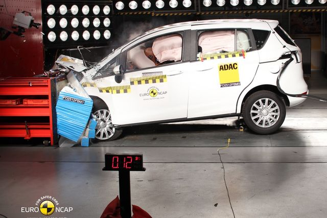 Ford b max euroncap