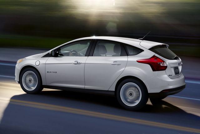 Ford focus elettrica 1