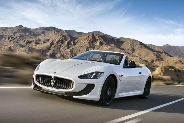 Maserati grancabrio mc stradale 4