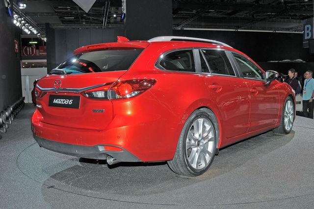 Mazda 6 sw parigi 1