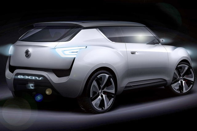 Ssangyong exiv 3